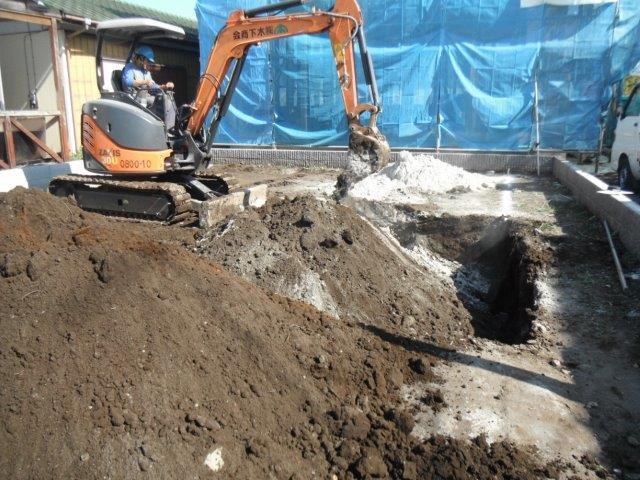 表層地盤改良工法